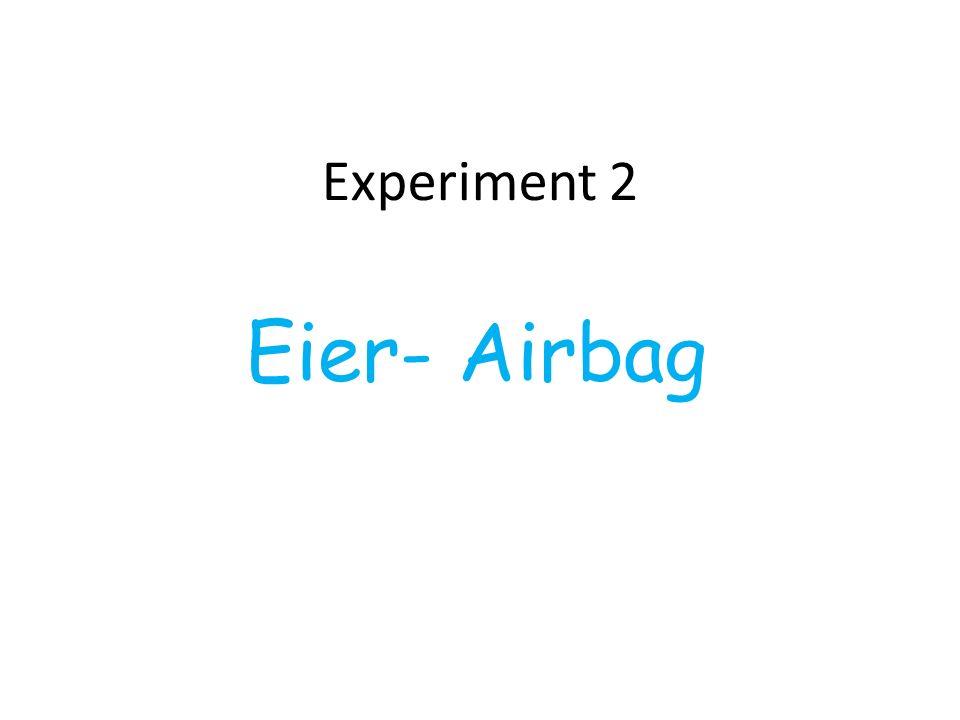 Experiment 2 Eier- Airbag