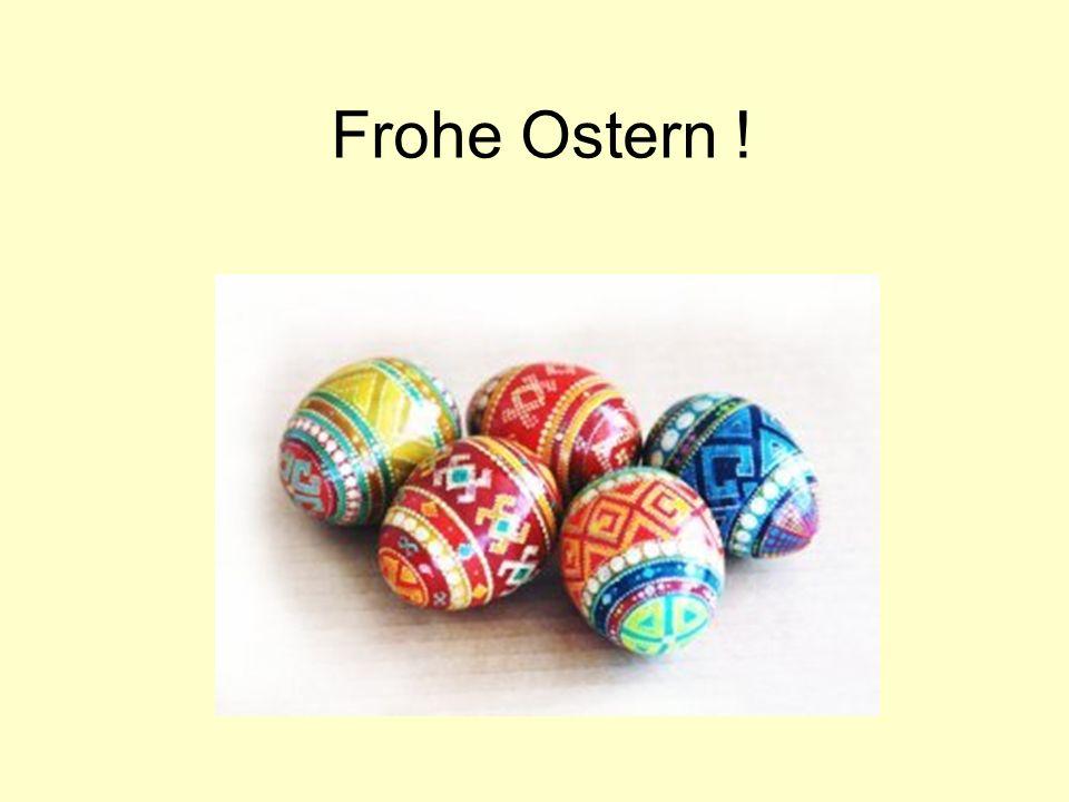 Wortsalat Findet im Wortsalat alle Worter zum Thema Ostern .
