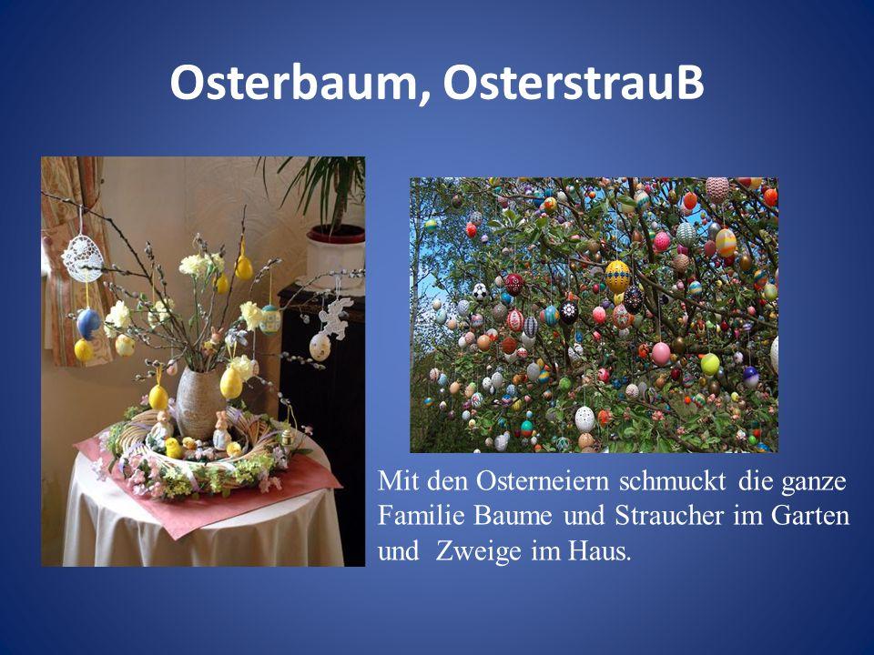 Osterglocken Auf jedem Tisch ist ein obligatorisches Attribut – ein Straus Narzissen, so wie die Deutschen solche Blumen nennen den Osterglocken.