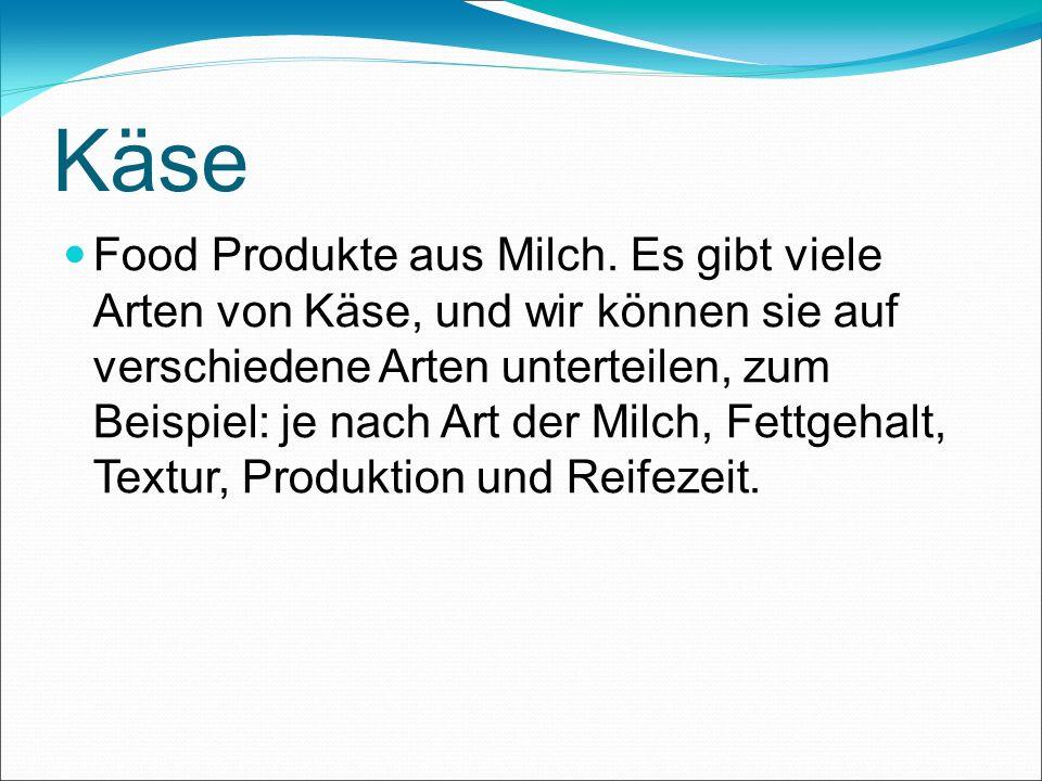 Käse Food Produkte aus Milch.