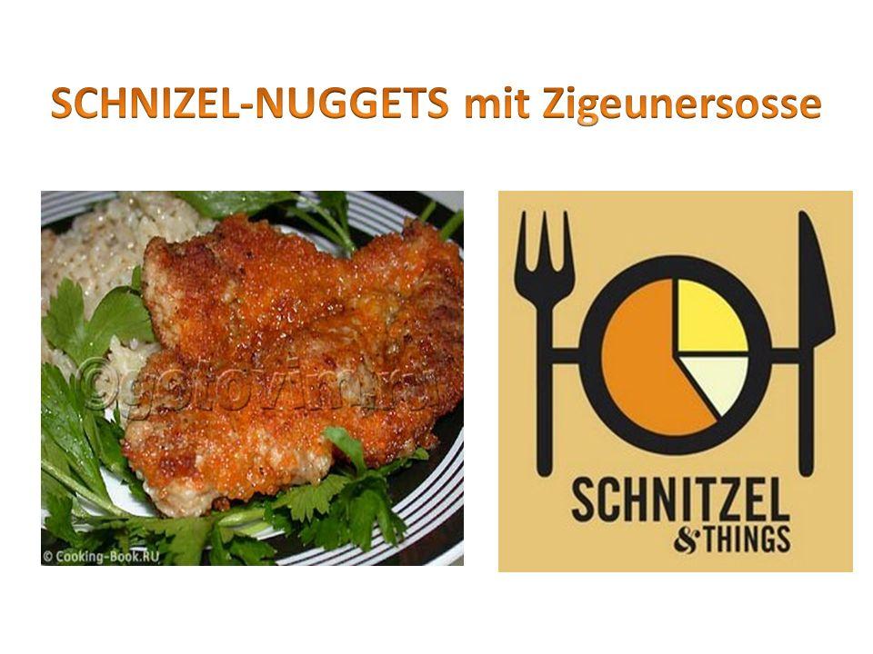 Zutaten fur 4 Personen: 200 g Landkornreis Salz 400 g Schweineschnizel 2 Eier ca.