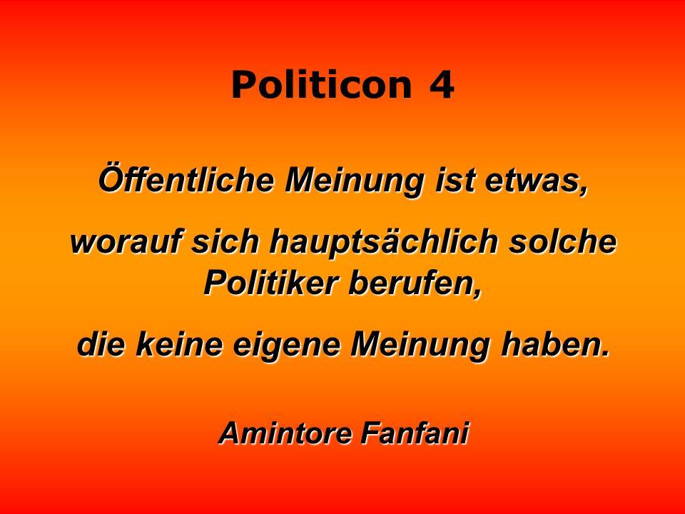 Politicon 4 Manche Politiker strahlen so in die Kameras, daß man sie nur mit Filter fotografieren kann.