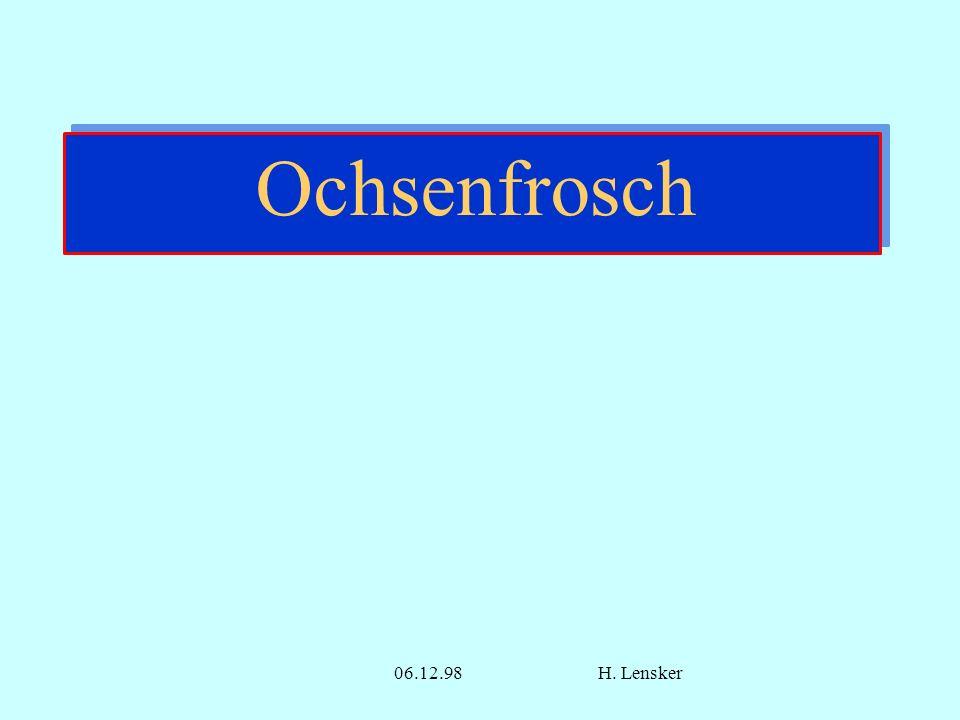 06.12.98H. Lensker Ochsenfrosch