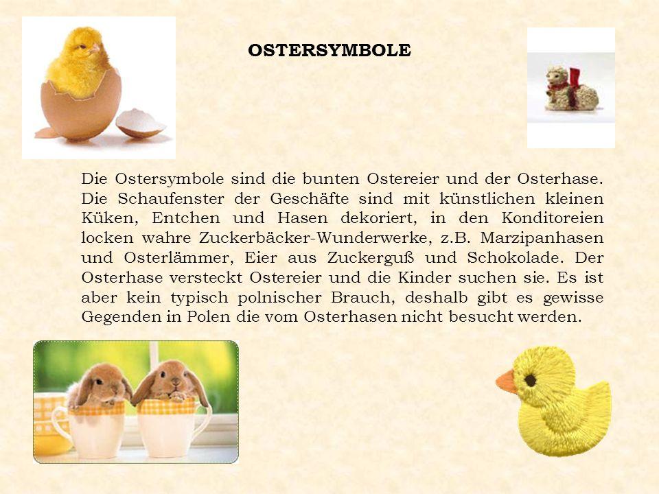 DER ŚMIGUS-DYNGUS Ein weiterer lebender Brauch des polnischen Osterfestes ist der Ostermontag mit seinem Smigus-Dyngus. Der Ursprung dieser alten Trad