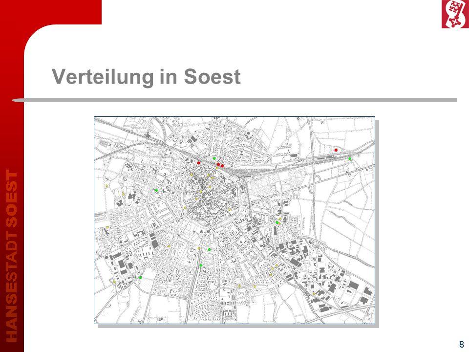 8 Verteilung in Soest