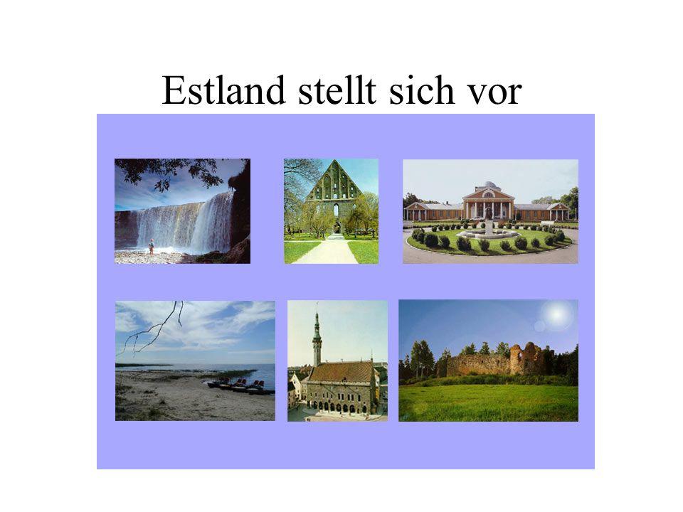 Inhalte Estland stellt sich vor Wirtschaftliche Entwicklung Estlands Allgemeine Lage auf dem Arbeitsmarkt Ursachen des Arbeitskräftemangels Emigration nach Westeuropa Einkommen und Lebenshaltungskosten