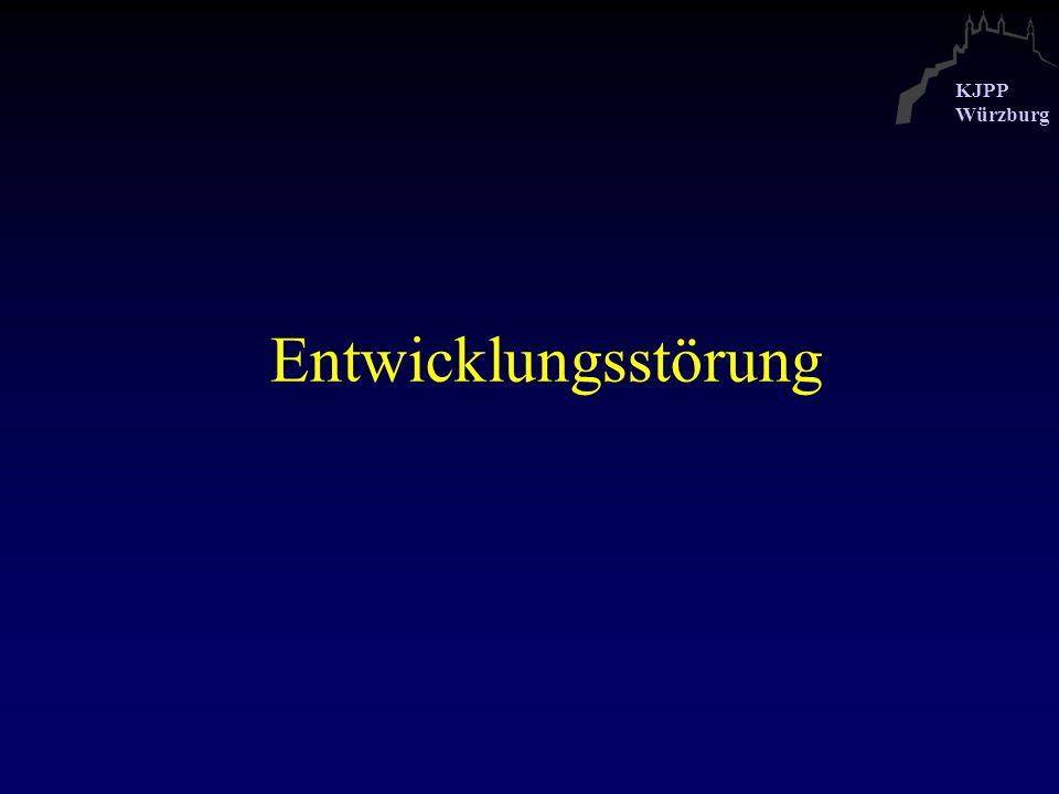 KJPP Würzburg Schule und Beruf In der Jugendzeit allgemeines Versagen in der Schule (z.B.