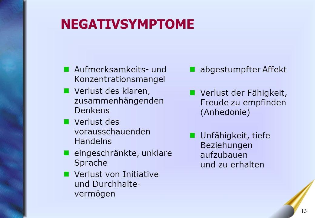 14 NEGATIVSYMPTOME