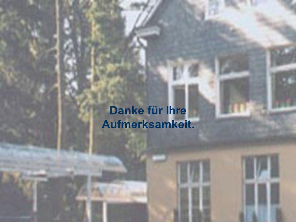 Grundschule Gerberstraße Danke für Ihre Aufmerksamkeit.