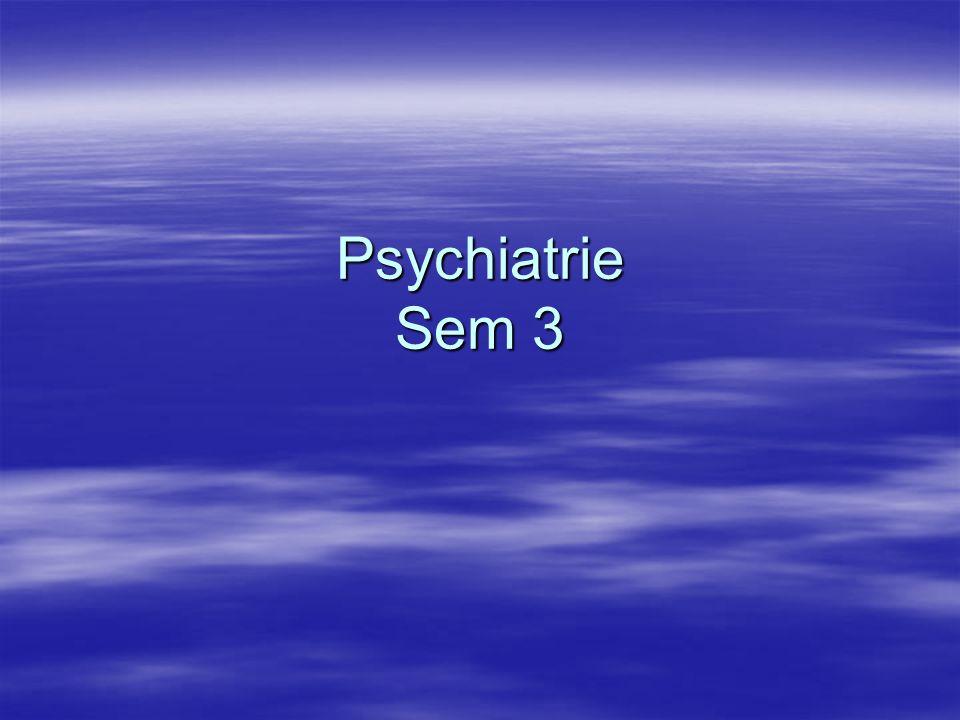 Psychiatrische Krankheitslehre - Klassifikation Entwicklung und Probleme Die Psychiatrie versucht, wie jede andere Wissenschaft, ihre Phänomene des Untersuchungsbereichs nach bestimmten phänomenologischen und kausalen Gesichtspunkten zu ordnen.