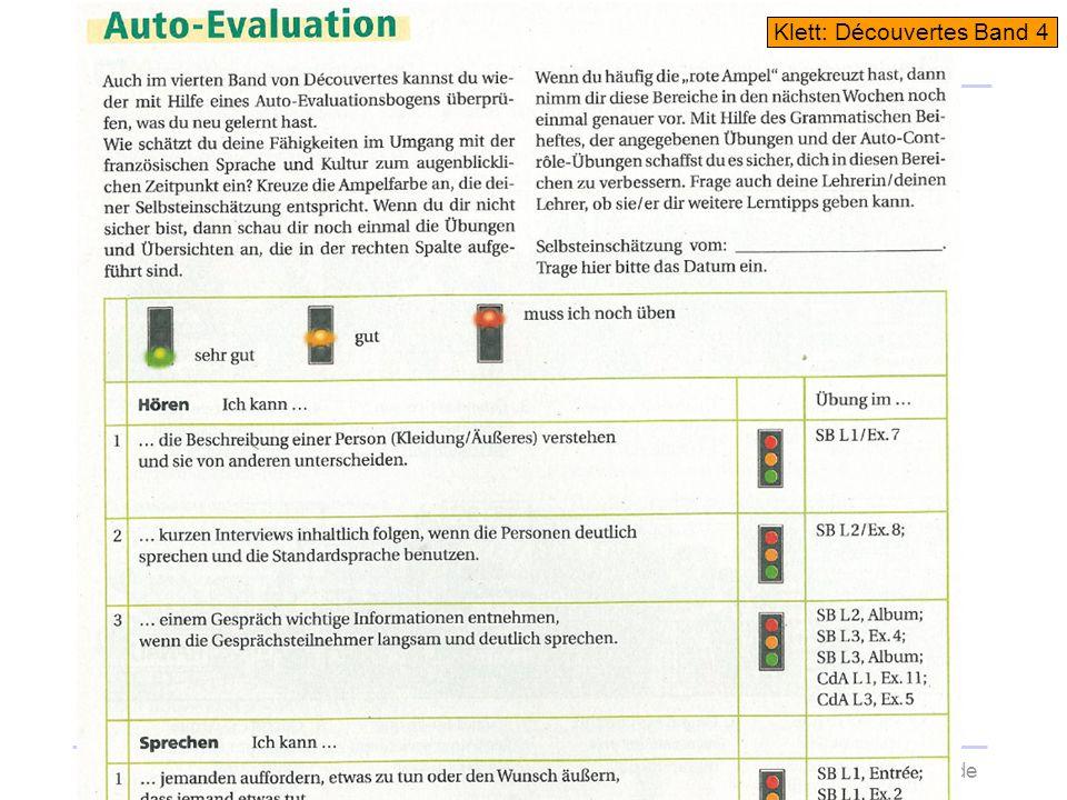 Selbsteinschätzung20.11.2013wolfram-thom.de Klett: Découvertes Band 4