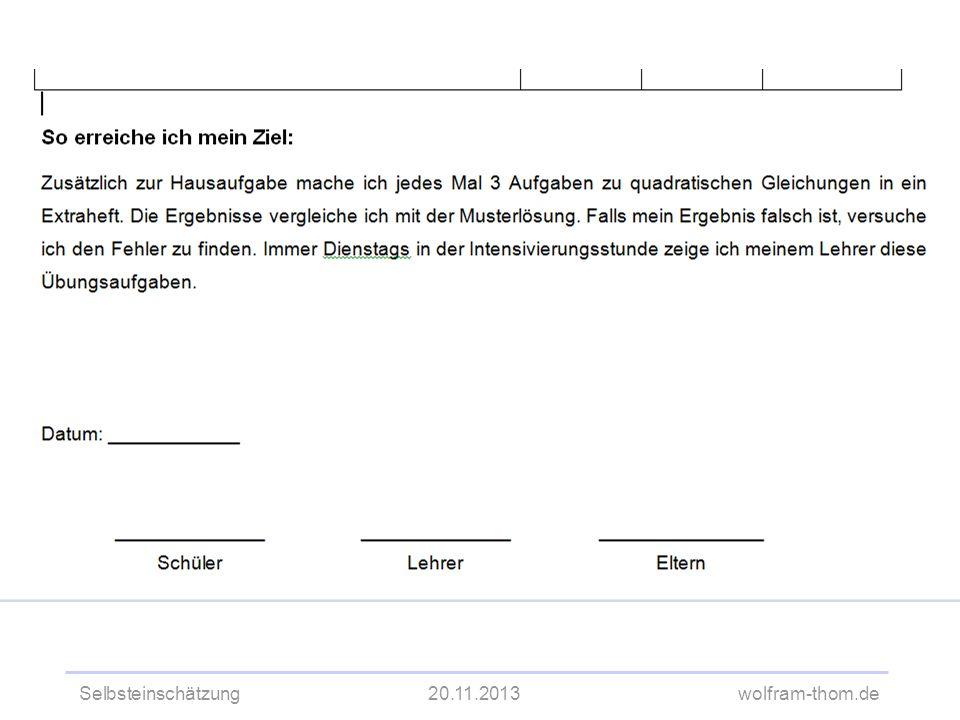 Selbsteinschätzung20.11.2013wolfram-thom.de