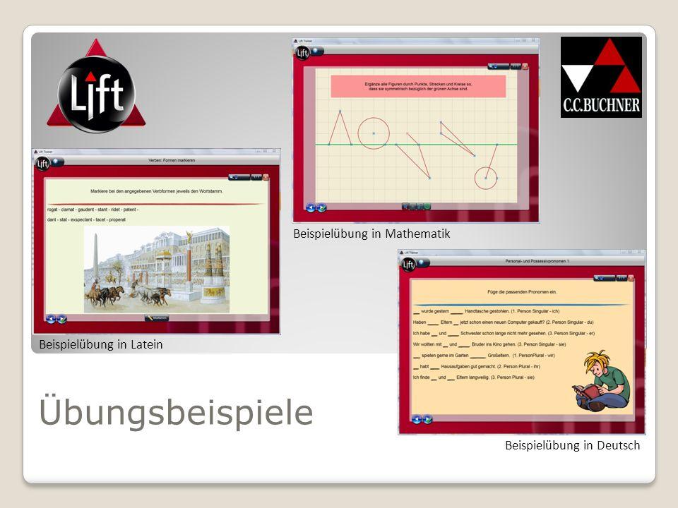 Unter www.lift.ccbuchner.de finden Sie kostenfreie Demoversionen von LIFT.www.lift.ccbuchner.de Mit dem LIFT-Newsletter sind Sie immer auf dem Laufenden über neue LIFT-Produkte.