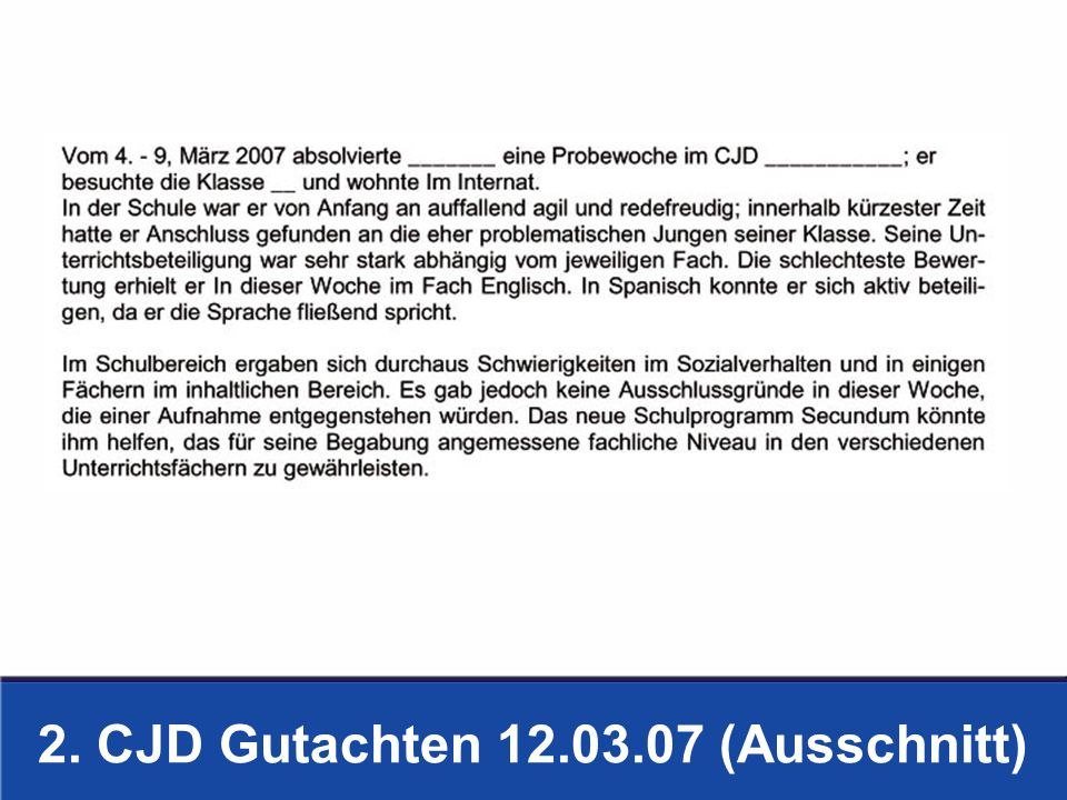 2. CJD Gutachten 12.03.07 (Ausschnitt)