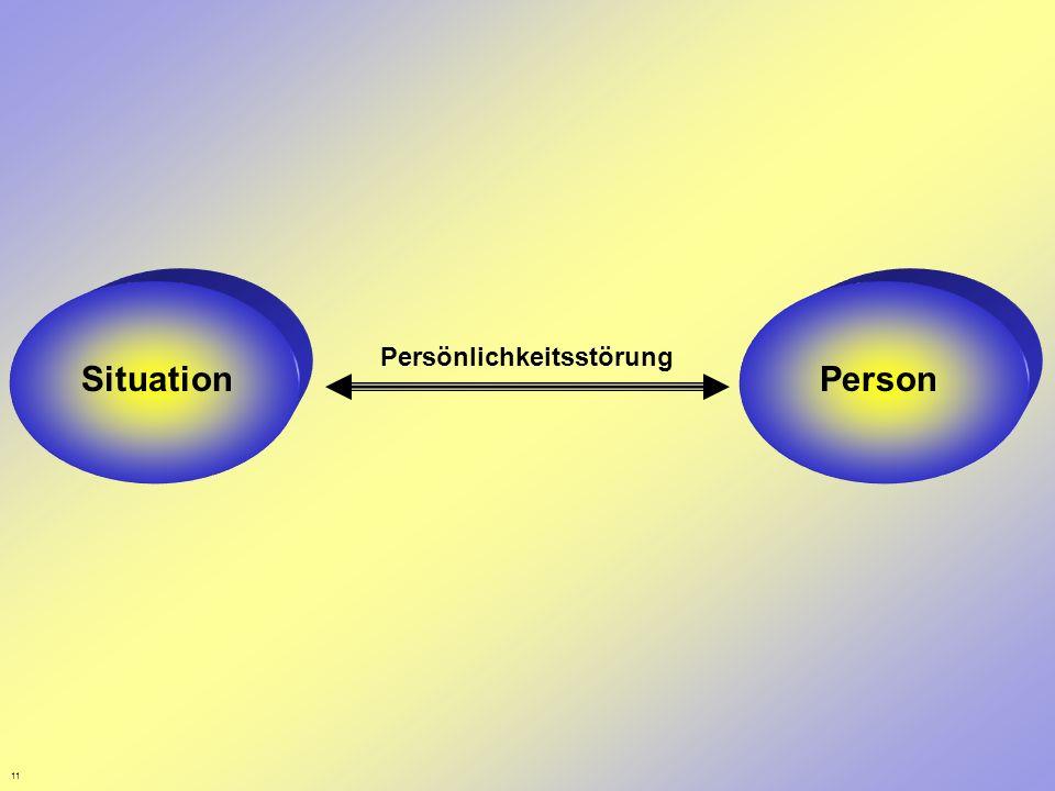 11 Situation Person Persönlichkeitsstörung Person