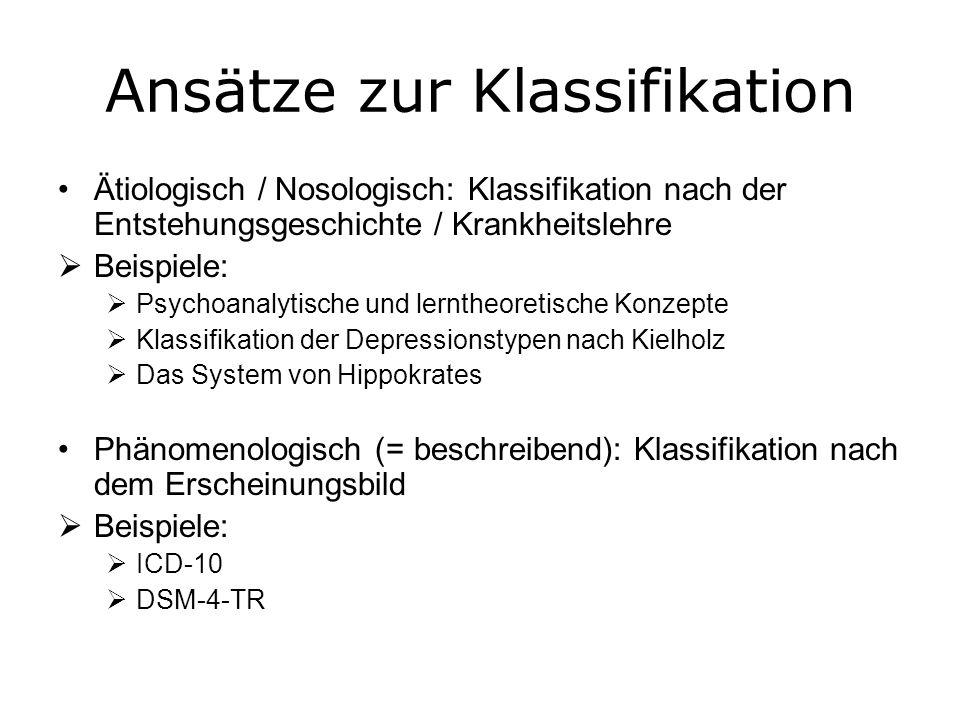ICD-10 und DSM-4-TR: Die bedeutendsten modernen Diagnosesysteme ICD-10 steht für International Classification of Diseases – 10.