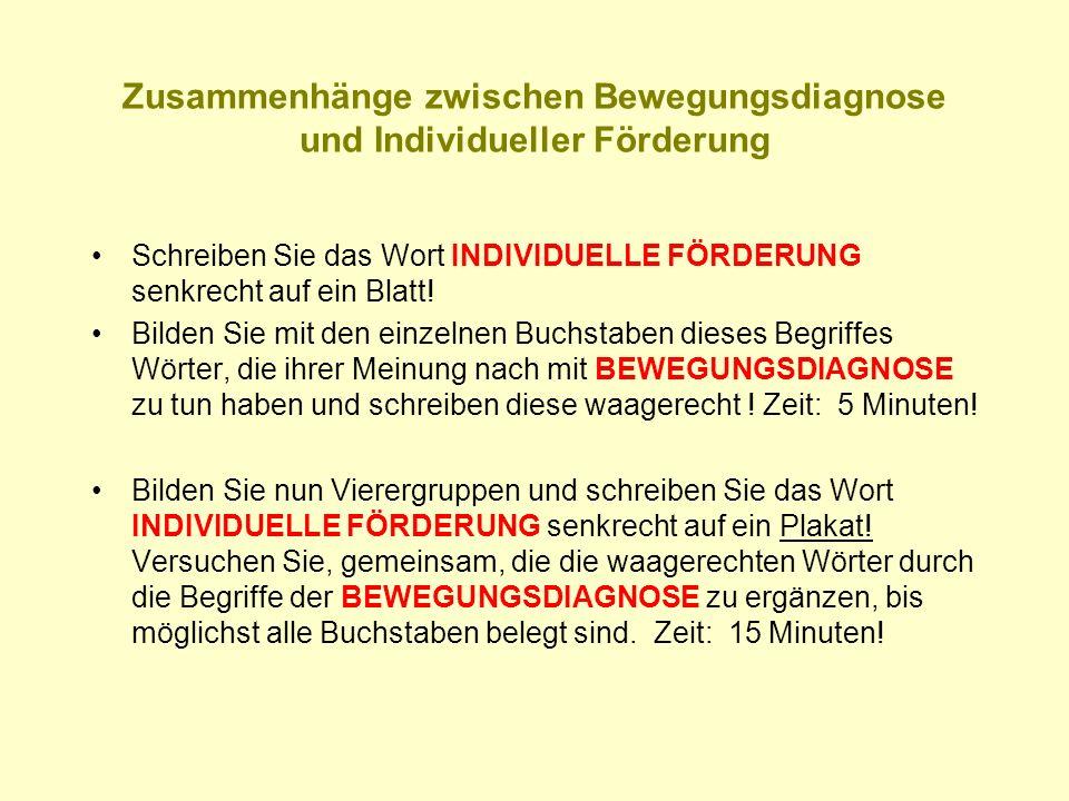 An die Tafel sehen Gleichgewicht Kopfkontrolle Blickregulation Raumorientierung Vgl.: Schönrade,S., Pütz,G., Abenteuer im Piratenland,, Borgmann-Verlag 2007