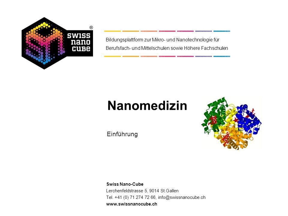 © 2011 - Swiss Nano-Cube Quellen: Diverse Die Dimension des Nanometers 1