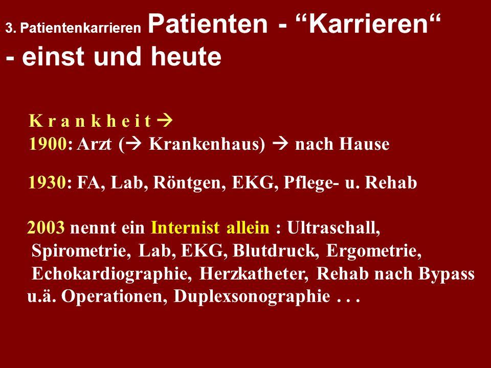 1: Rolle der Psychologie in der Medizin 2. Psychosomatik = Einheit der Person 3. Patientenkarrieren 4. Psychophysiologische Prozesse 5. Arzt-Patient K
