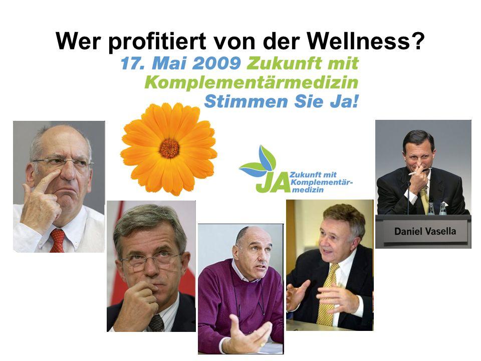 Wer profitiert von der Wellness?