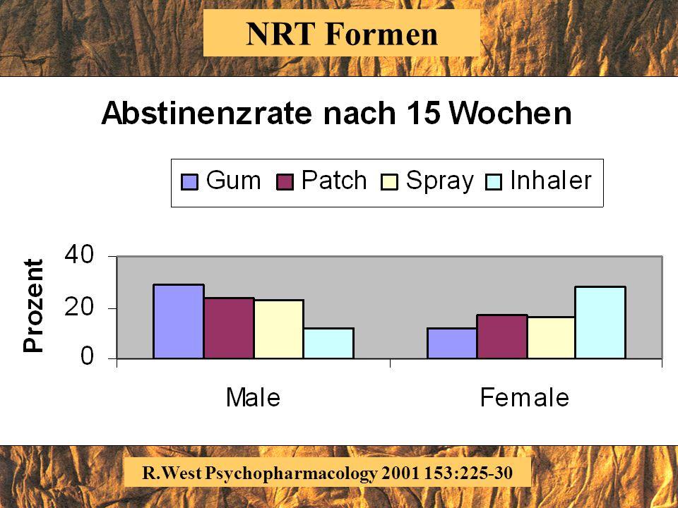 R.West Psychopharmacology 2000 149:198-202 NRT Formen