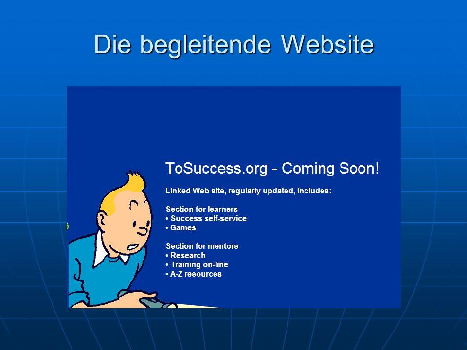Die begleitende Website