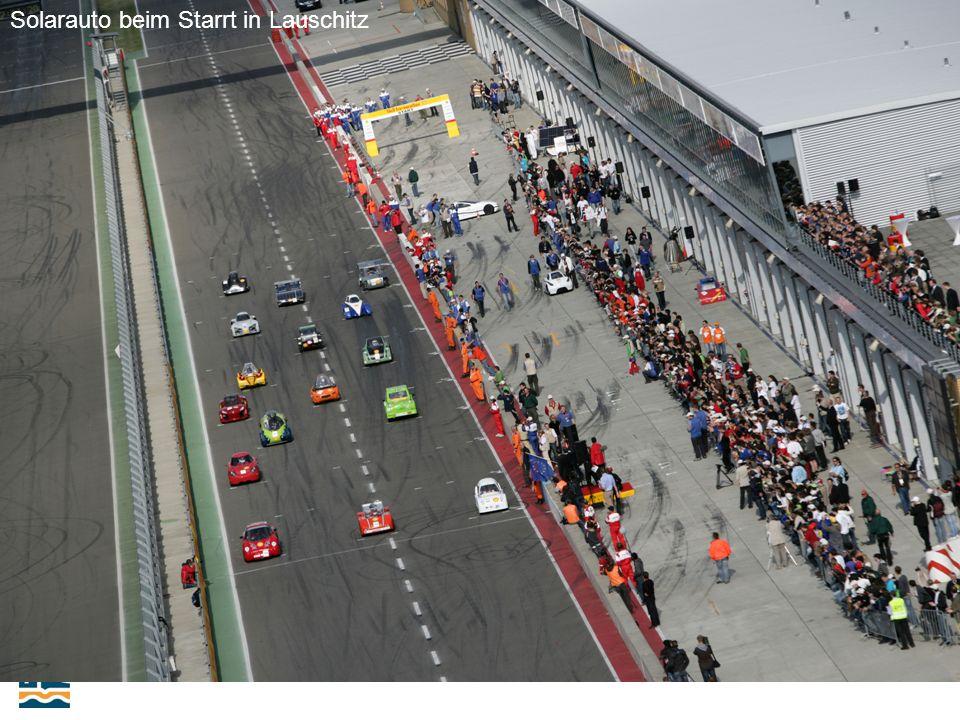 23-25.09.2009. 10. Internacionale Schienenfahrzeugtagung Dresden Solarauto beim Starrt in Lauschitz