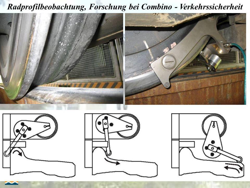23-25.09.2009. 10. Internacionale Schienenfahrzeugtagung Dresden Radprofilbeobachtung, Forschung bei Combino - Verkehrssicherheit