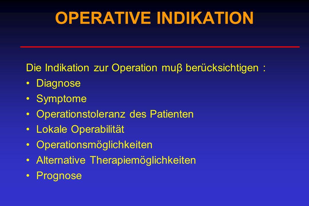 Tumor Ulcus Infizierte Gewebe, Organe Nekrotische Gewebe Tumor Ulcus Infizierte Gewebe, Organe Nekrotische Gewebe RESEKTION