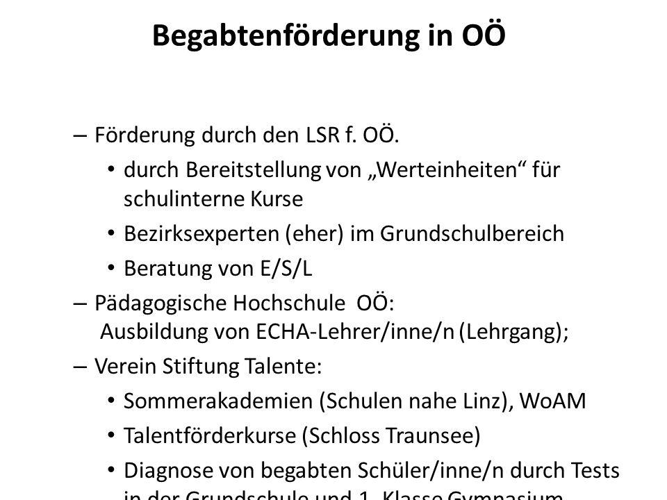 Begabtenförderung am Ramsauergymnasium 1/2 – Schule mit ca.