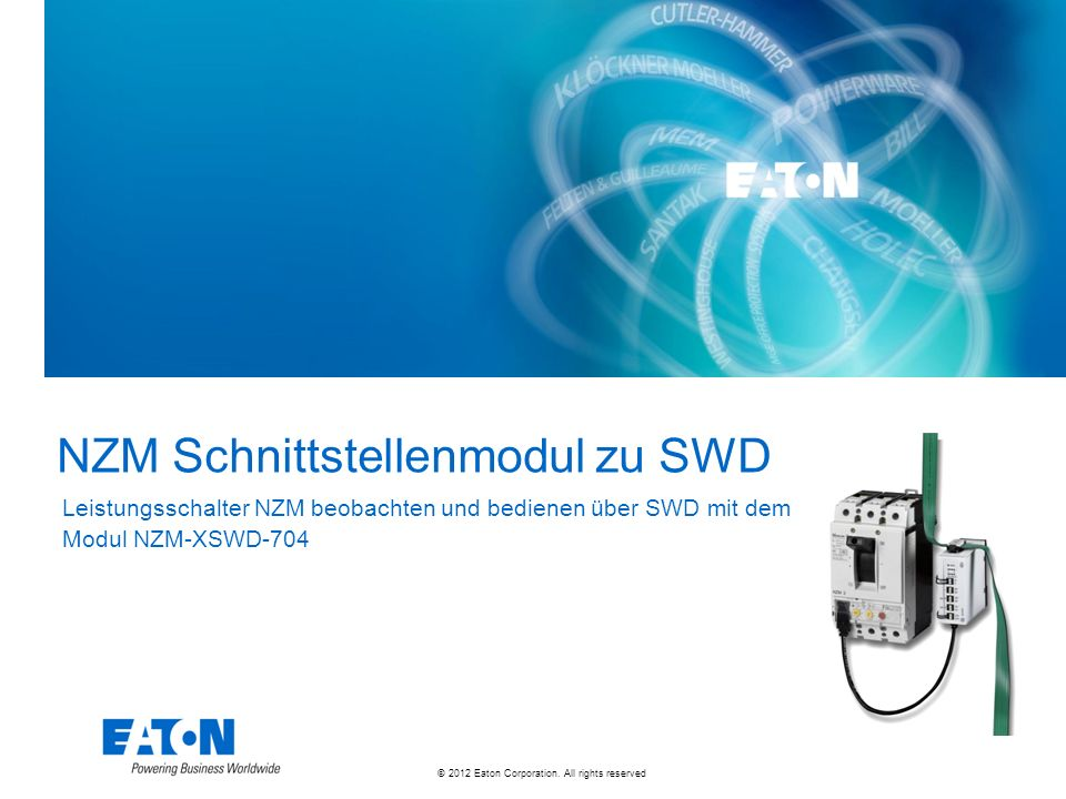 © 2012 Eaton Corporation.All rights reserved.