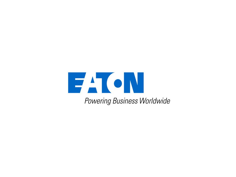 13 © 2012 Eaton Corporation. All rights reserved.
