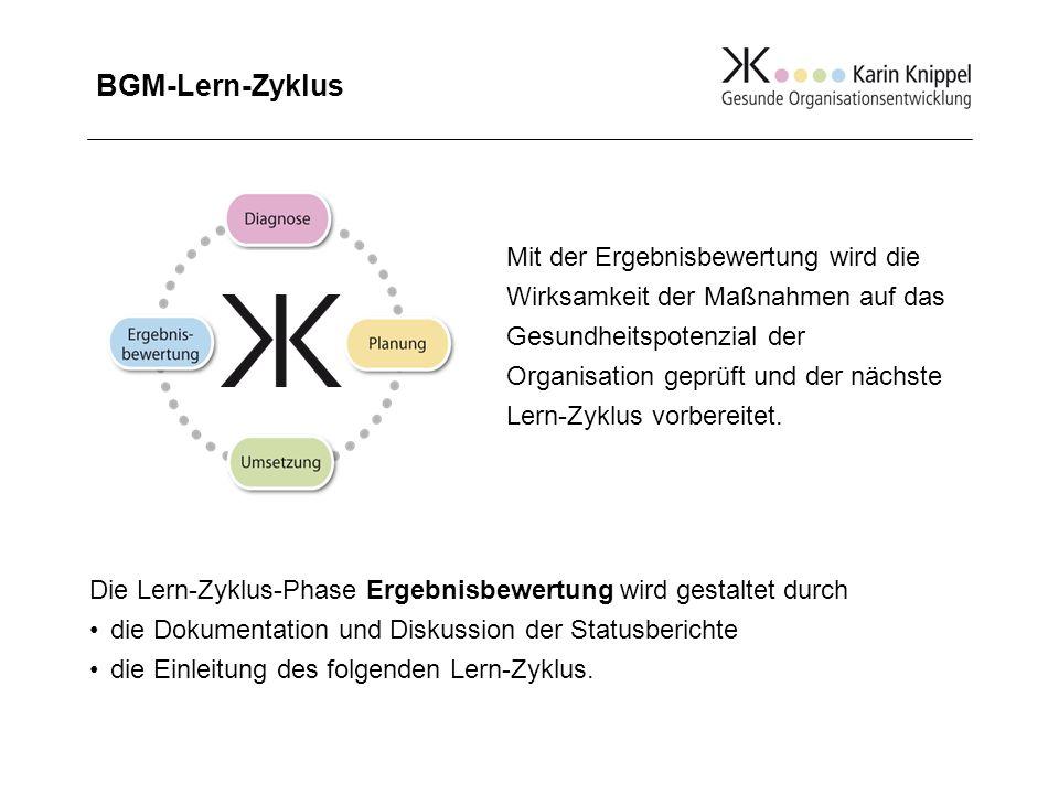 BGM-Lern-Zyklus PhaseGestaltungInstrumente, z.B.