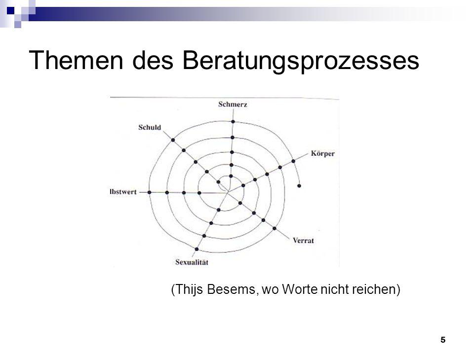 5 Themen des Beratungsprozesses (Thijs Besems, wo Worte nicht reichen)
