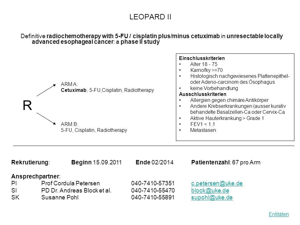 Mepact Surveillance Studie Observational, Noninterventional Surveillance of Patients With Newly Diagnosed Osteosarcoma Rekrutierung: Beginn04.10.2011Ende 04.10.2013Patientenzahl: 300 Ansprechpartner: PIProf.