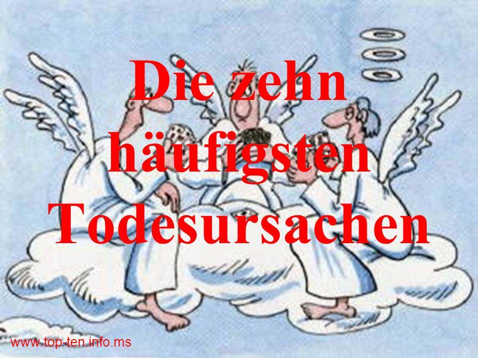 www.top-ten.info.ms Die zehn häufigsten Todesursachen www.top-ten.info.ms