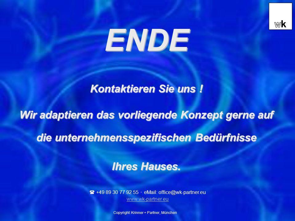 Copyright: Krinner + Partner, München Kontaktieren Sie uns .