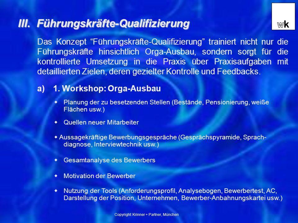 Copyright: Krinner + Partner, München III.