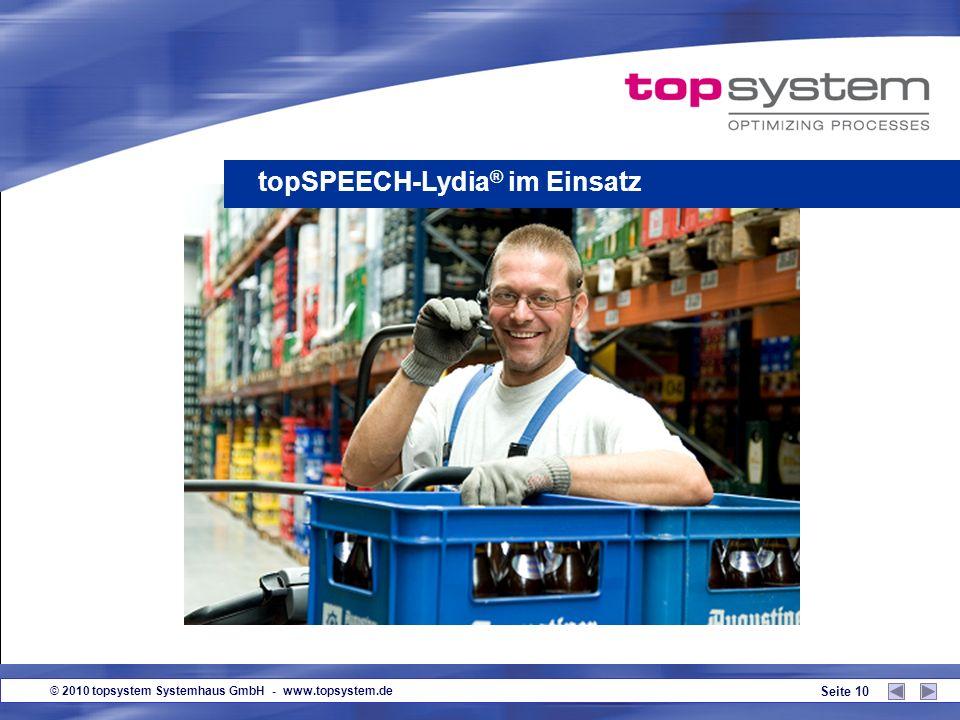 © 2010 topsystem Systemhaus GmbH - www.topsystem.de Seite 9 Brasilien/ Lebensmittelbranche Niederlande / Lebensmittelbranche Niederlande/ Textilindust