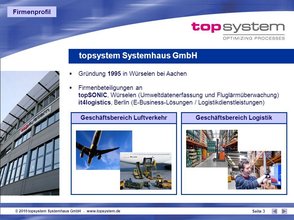 © 2010 topsystem Systemhaus GmbH - www.topsystem.de Seite 13 Guten Tag.