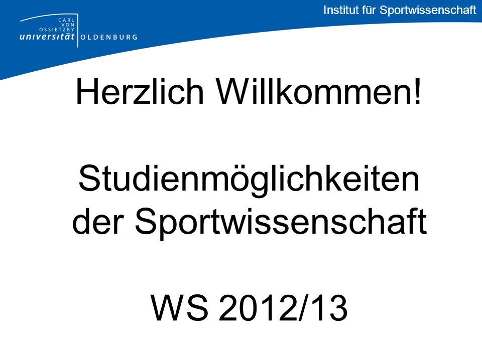 Institut für Sportwissenschaft Wissens- und Könnenstransfer (M.