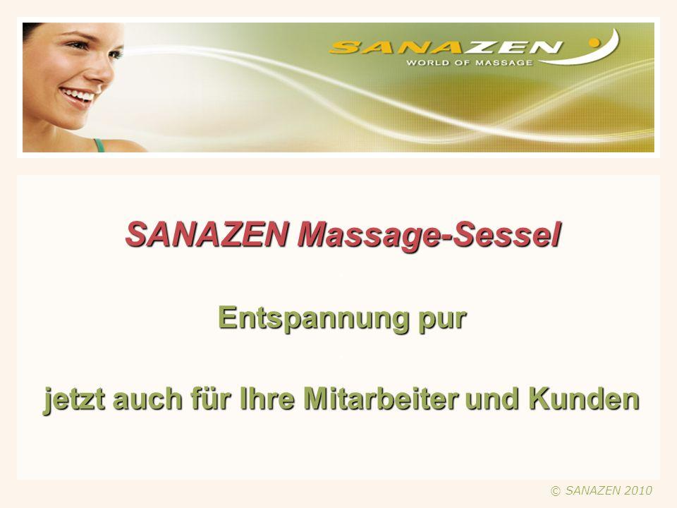 Sanazen Massagesessel – was ist das.
