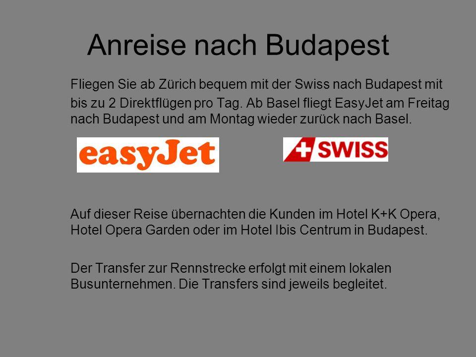 Anreise nach Budapest Fliegen Sie ab Zürich bequem mit der Swiss nach Budapest mit bis zu 2 Direktflügen pro Tag.