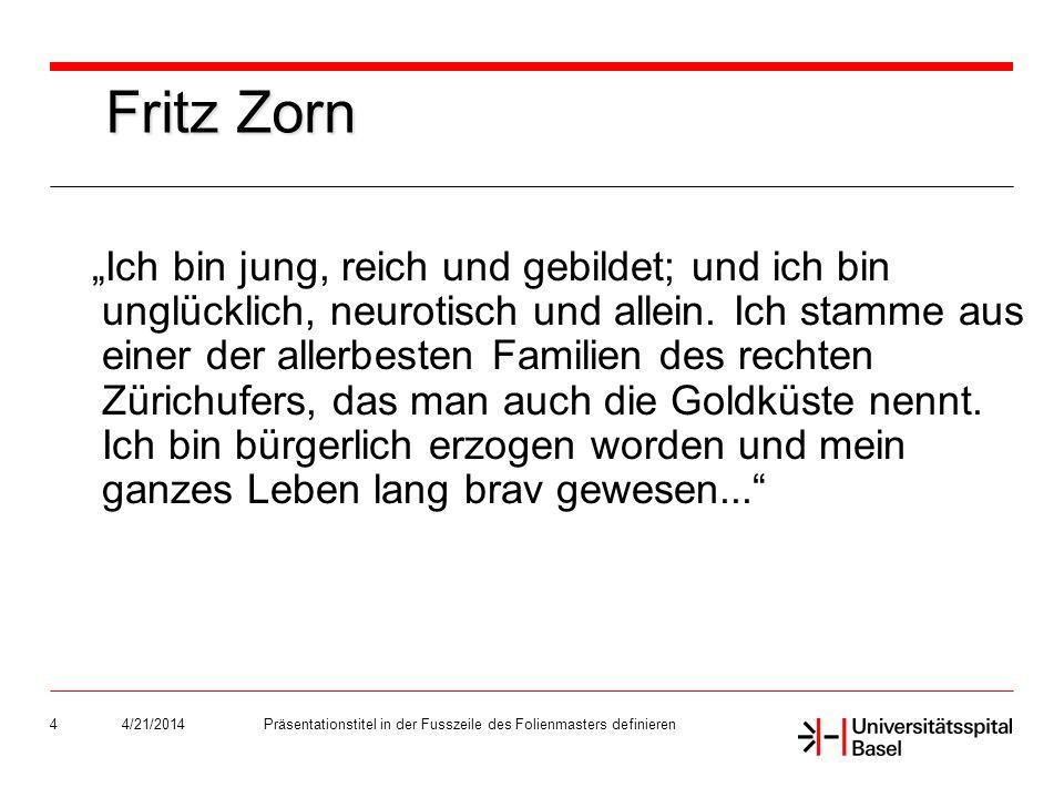 4/21/2014Präsentationstitel in der Fusszeile des Folienmasters definieren25
