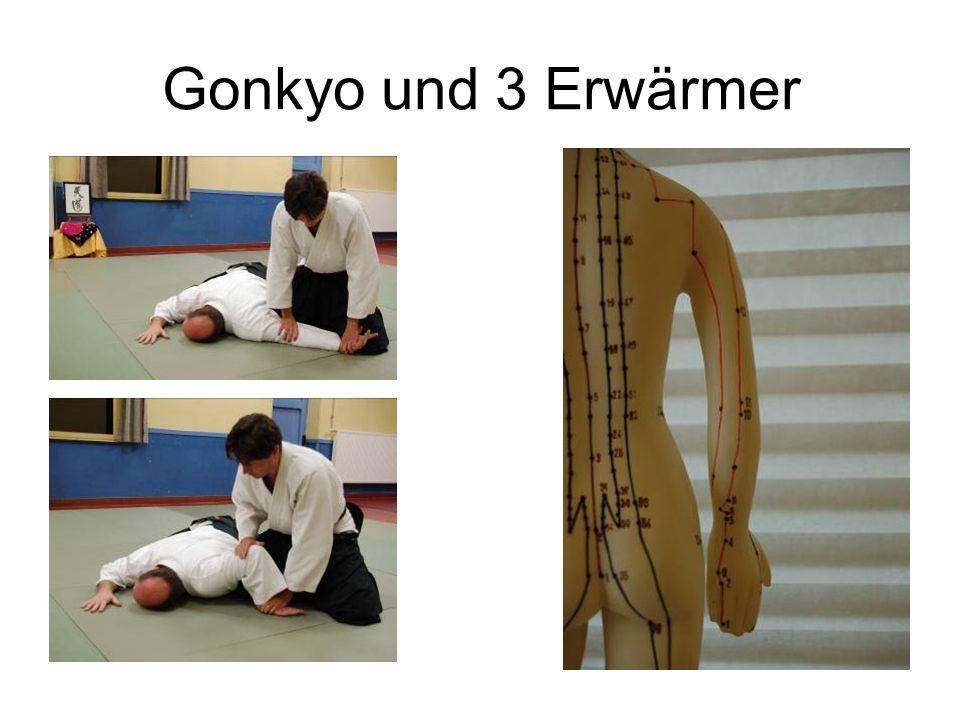 Gonkyo und 3 Erwärmer