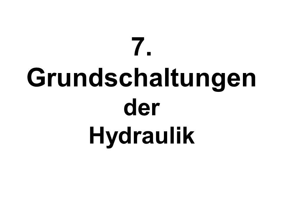 7. Grundschaltungen der Hydraulik