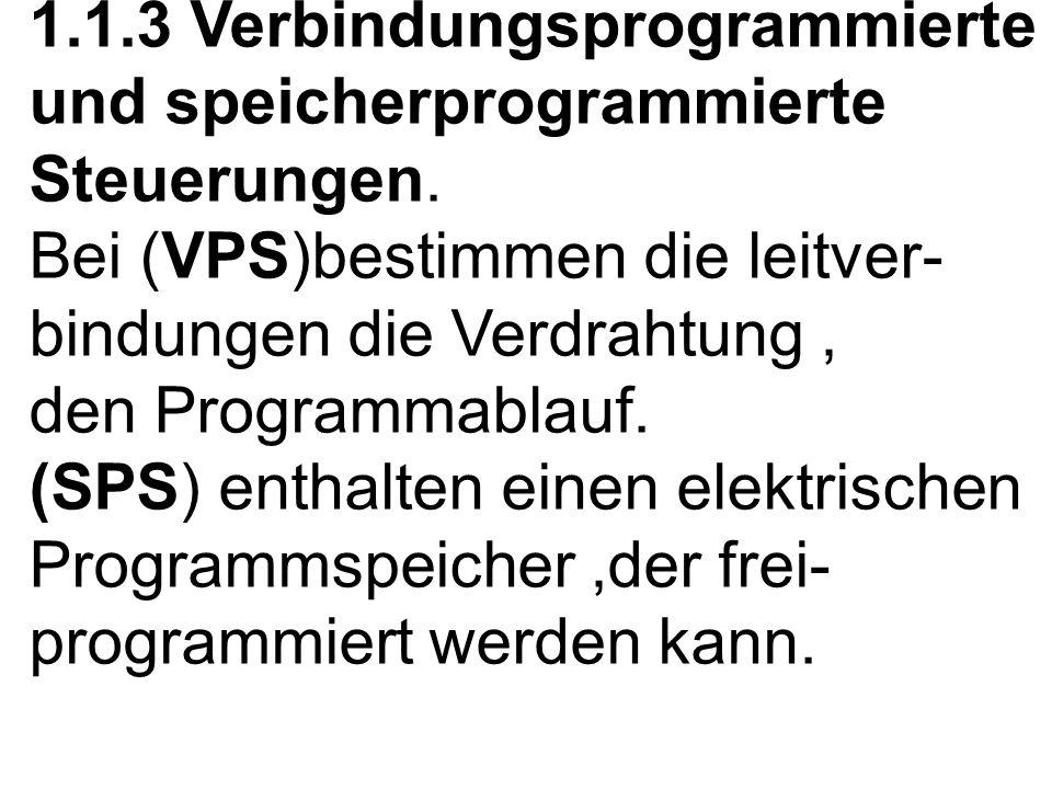 1.1.3 Verbindungsprogrammierte und speicherprogrammierte Steuerungen.