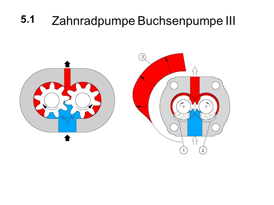 Zahnradpumpe Buchsenpumpe III 5.1