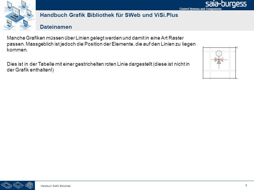 26 Handbuch Grafik Bibliothek Handbuch Grafik Bibliothek für SWeb und ViSi.Plus Absperrorgane BezeichnungGrafikDateiS B x H M B x H L B x H VAV; Variabler Volumenstromregler nach SIA AC0561_x & AC0562_x 402060308040 VAV; Variabler VolumenstromreglerAC0572_x & AC0573_x