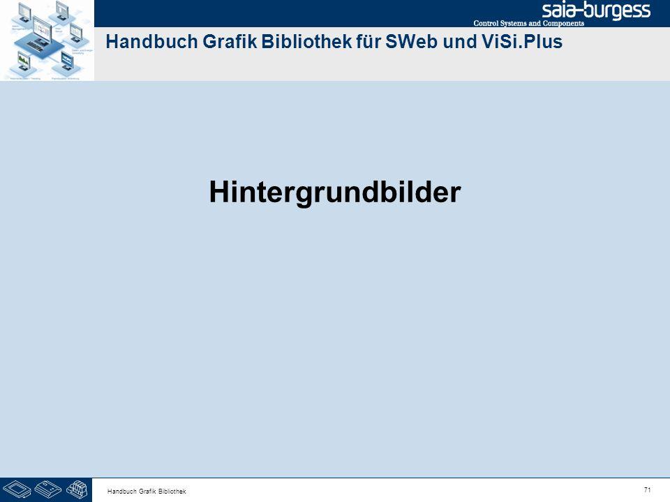 71 Handbuch Grafik Bibliothek Handbuch Grafik Bibliothek für SWeb und ViSi.Plus Hintergrundbilder